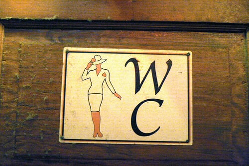 Sex in Public Restroom