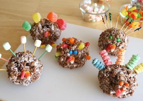 Lil Links: Rice Krispy Turkeys Are Gobble, Gobble Good!