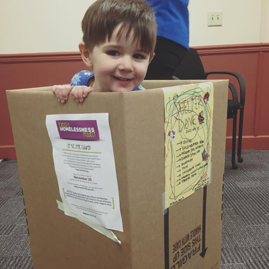 Toddler Starts Clothing Drive For Homeless