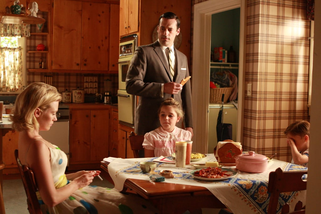 Things are awkward between Don and Betty during season two, but Sally and her dad are still cool.
