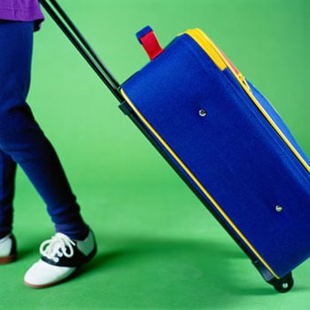 Leave the Extra Suitcase at Home