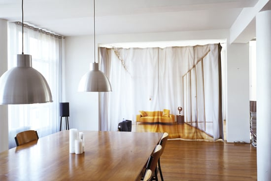 Cool Idea: Real Size Roomscape Curtain