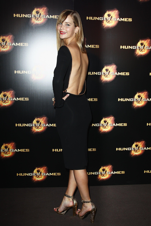 We loved the sexy back detailing on Jennifer's Tom Ford dress.