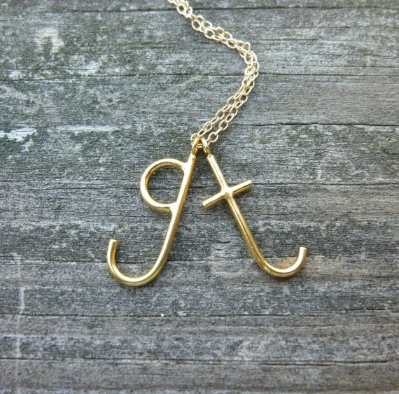 Lowercase Letter Necklace