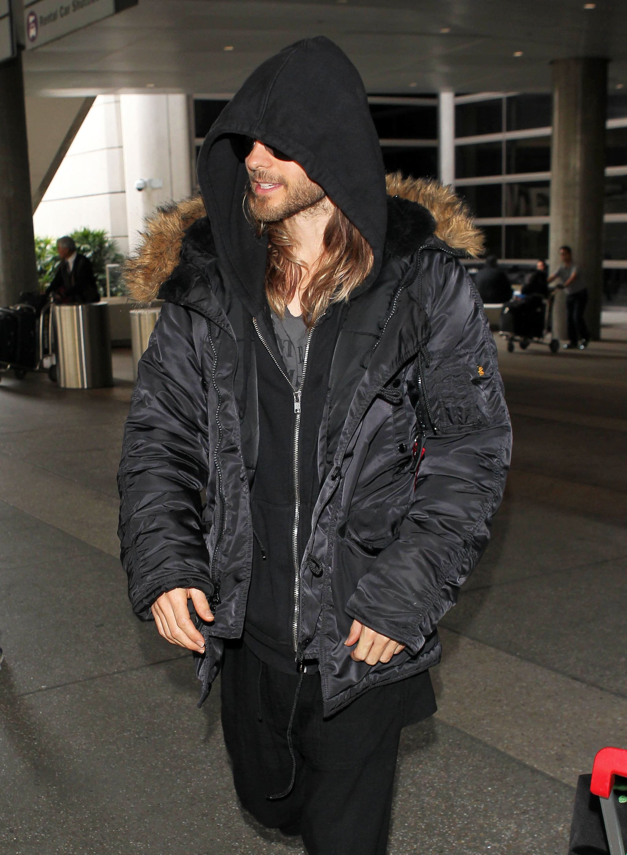 Jared Leto and His Hair Finally Make It to LA