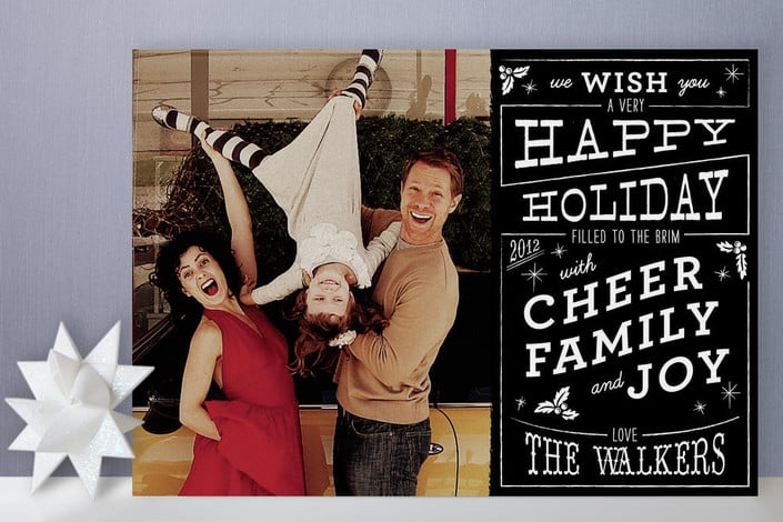 Christmas Cafe Holiday Photo Cards ($64 For 25)