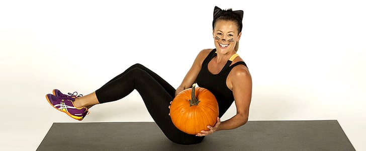 Burn Off Those Halloween Candy Calories With This Pumpkin Workout