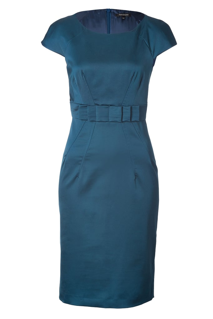 A smart sheath ($365) like this Tara Jarmon style is a no-brainer for Kate's early rounds of engagements and charity appearances.