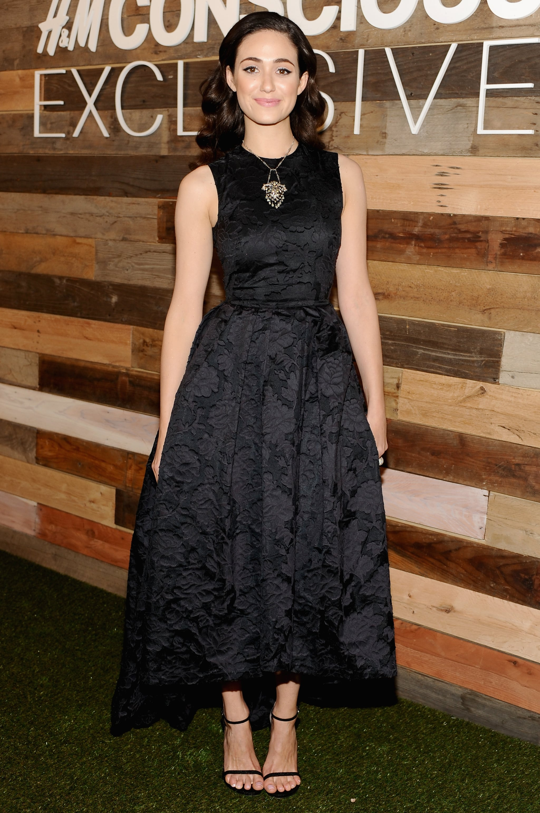 Emmy Rossum Wearing H&M Conscious Collection