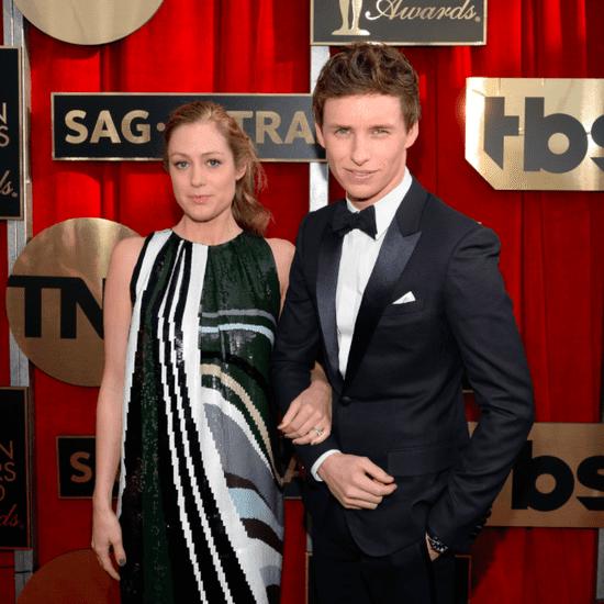 Eddie Redmayne and Hannah Bagshawe at SAG Awards 2016