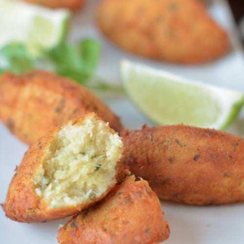 Fried Codfish Fritters Recipe