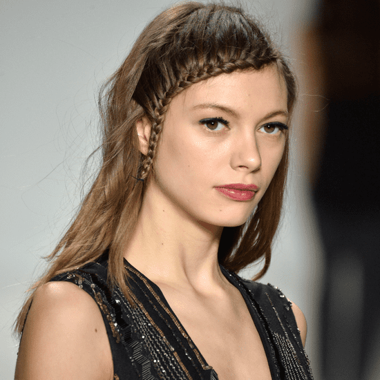 Plaits, Berry Lips, and French Manis Make Nanette Lepore On Trend