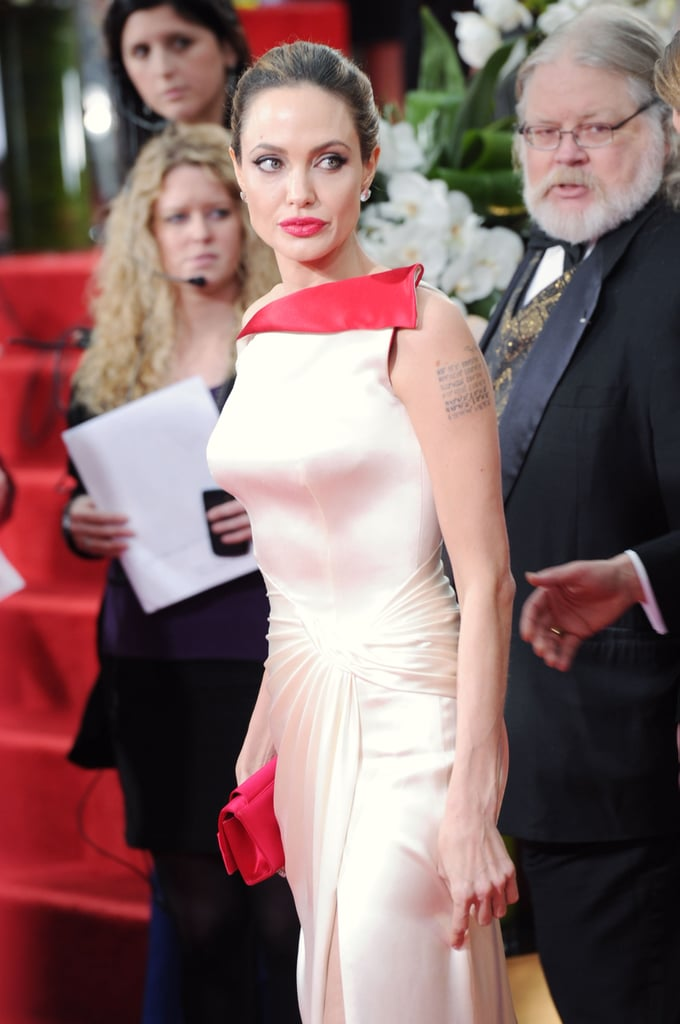 Angelina Jolie on the red carpet.