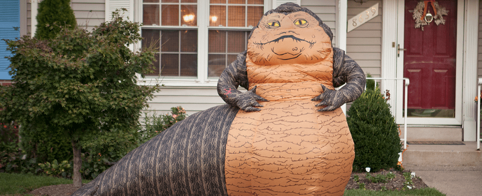 This Is No Jedi Mind Trick — You Can Decorate Your Lawn With Jabba the Hutt