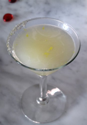 Ryan Scott's Updated Lemon Drop Cocktail Recipe