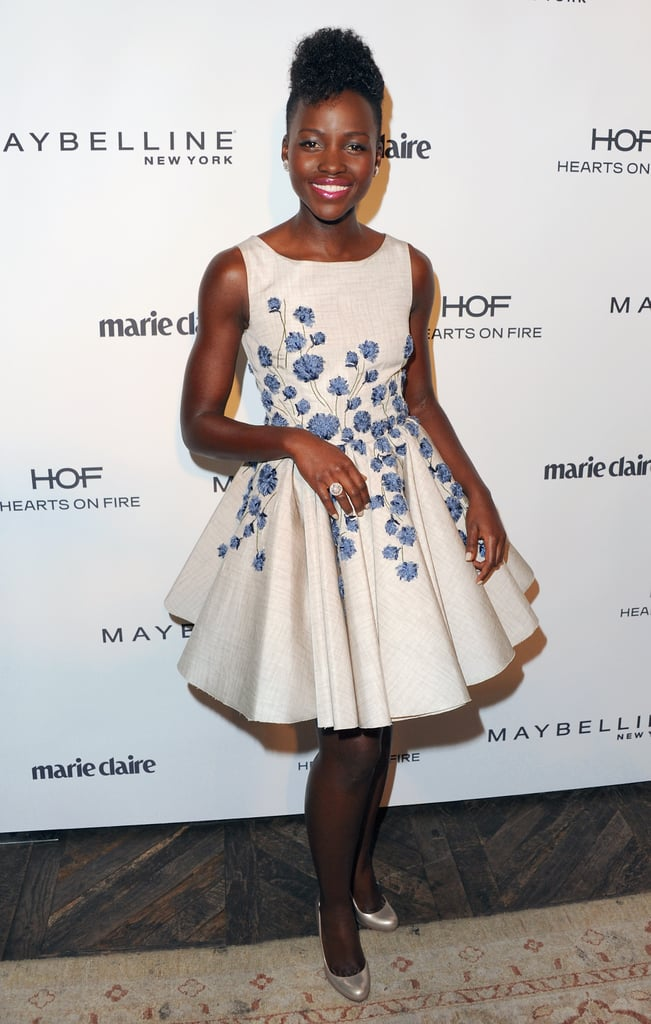 Lupita Nyong'o at Marie Claire's Fresh Faces Party