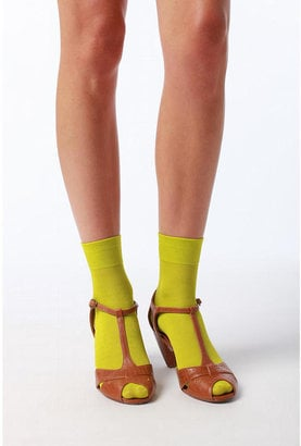 If you need a quick Fall pick-me-up, throw on these UO Ankle Socks ($8).