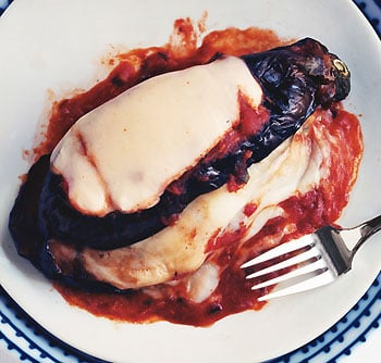 Fast & Easy Gourmet Recipe For Grilled Eggplant Parmesan