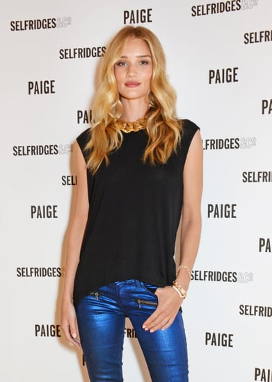 Rosie Huntington-Whiteley Is at the Top of Her Denim Game