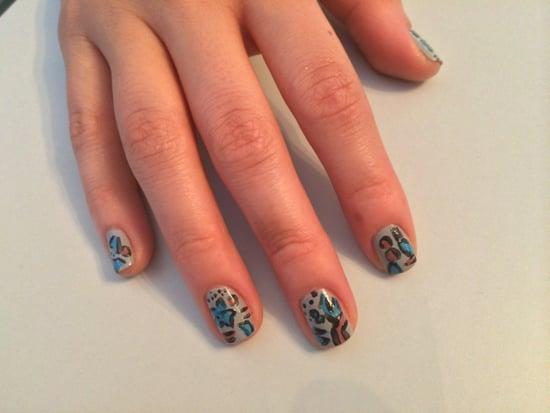 Make This Off-the-Runway Burberry Print Your Next Nail-Art DIY!