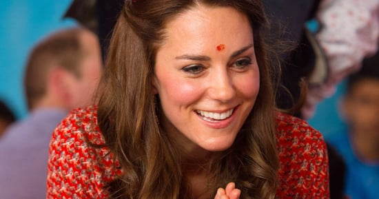 Duchess Kate Wore A $72 Dress To Sit On The Floor And Color In India