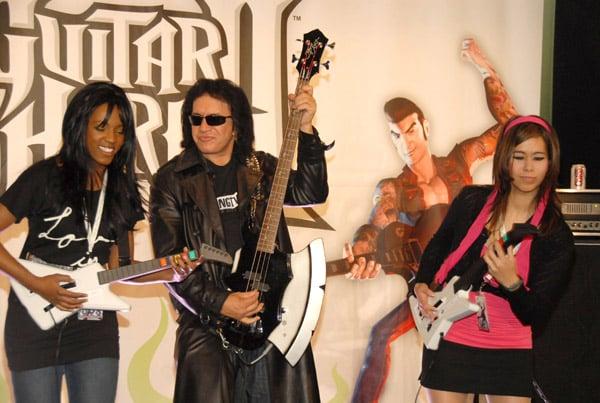 Gene Simmons Promotes Guitar Hero II for Xbox 360