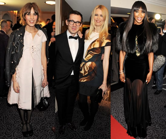 Photos from the 2010 British Fashion Awards in London