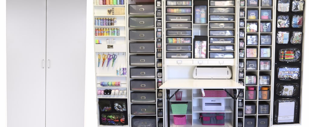 This Scrapbook Cabinet Is a Genius Storage Solution For Beauty Hoarders
