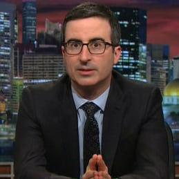 John Oliver Talks About Family Leave