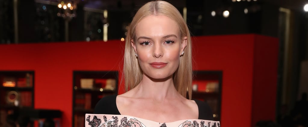 Kate Bosworth Scored a Fresh-Off-the-Runway Dress, and This Is How She's Celebrating