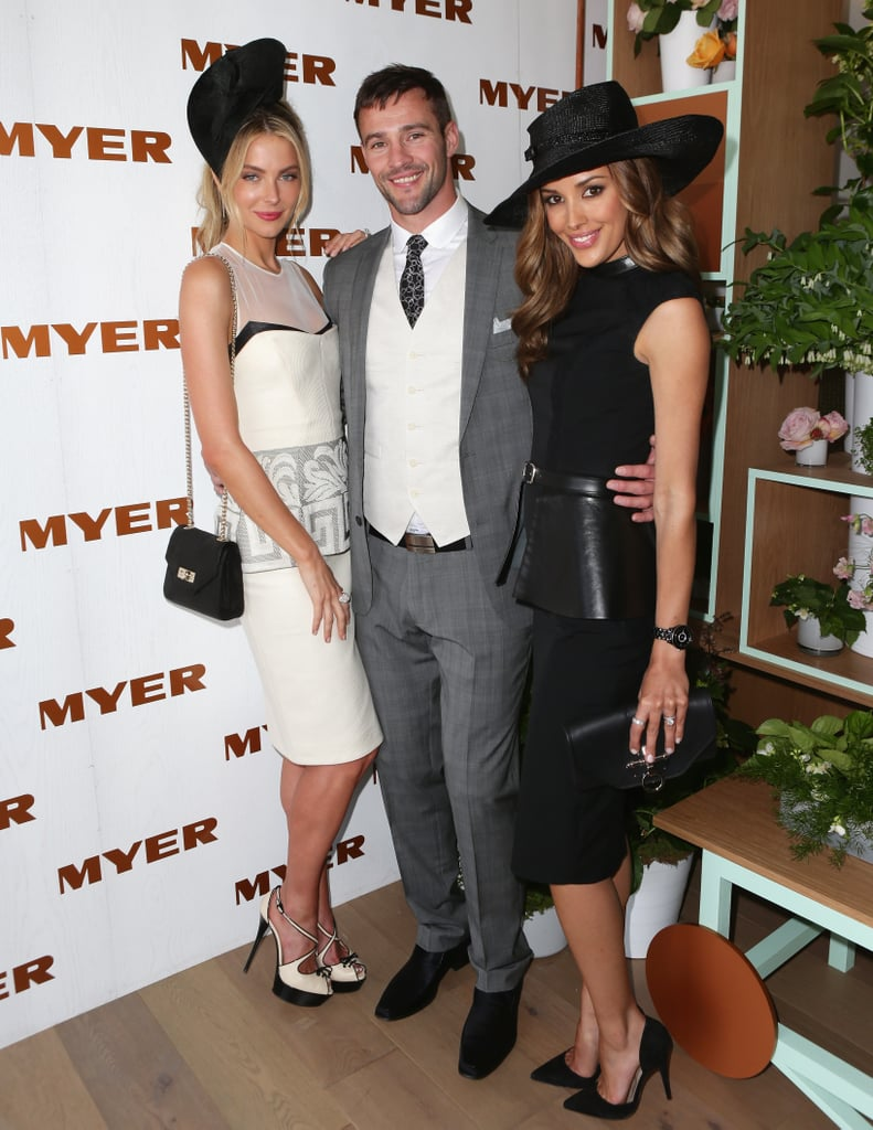 Jennifer Hawkins, Kris Smith and Rebecca Judd.