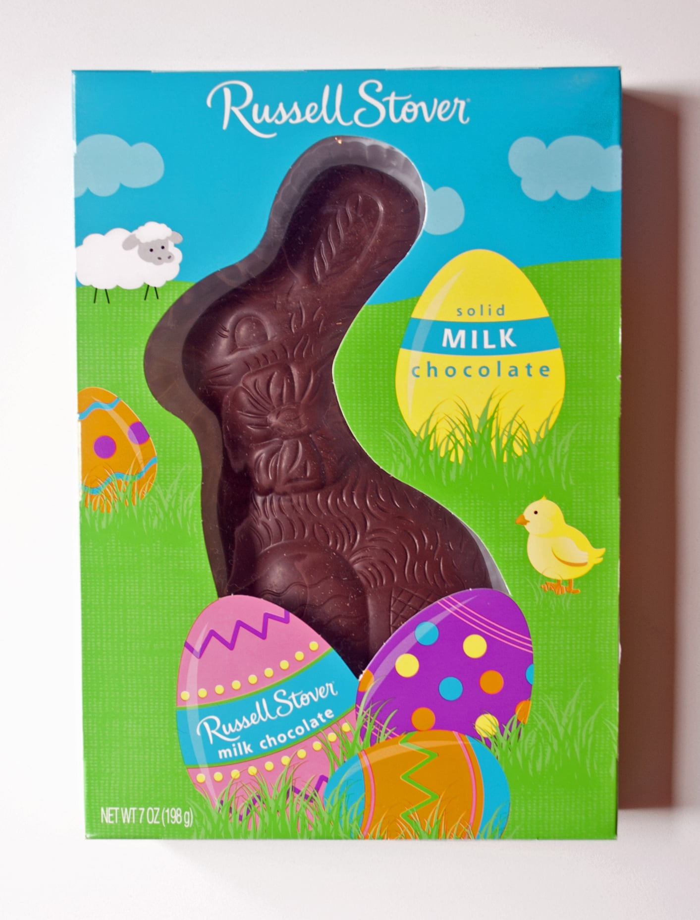 Russell Stover Solid Milk Chocolate Bunny