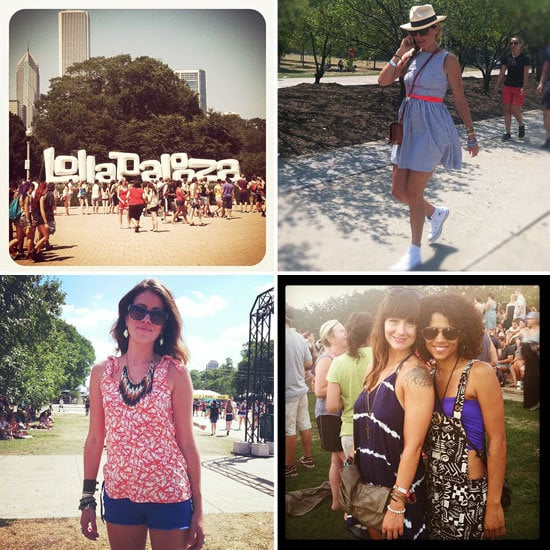 Our 20 favorite street-style snaps straight from Lollapalooza!