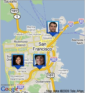 Google Latitude Can Be Shared With Non Latitude Friends