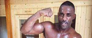 Here's Idris Elba All Shirtless and Sweaty For You