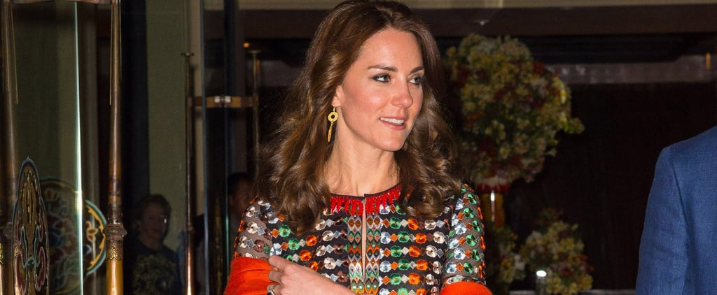 Kate Middleton's Glittering Gown Is Hands Down Her Best Bhutan Look Yet