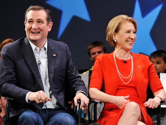 Wishful Thinking: Ted Cruz Vetting Carly Fiorina As Possible VP Pick