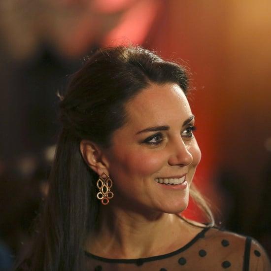Kate Middleton's Jenny Packham Skirt Pregnancy Style