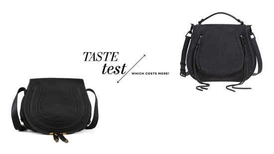 Can You Tell Which Saddle Bag Is Chloe And Costs $1,000 More?