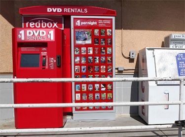 Do You Rent Movies and Video Games From Redbox Self-Serve Kiosks?