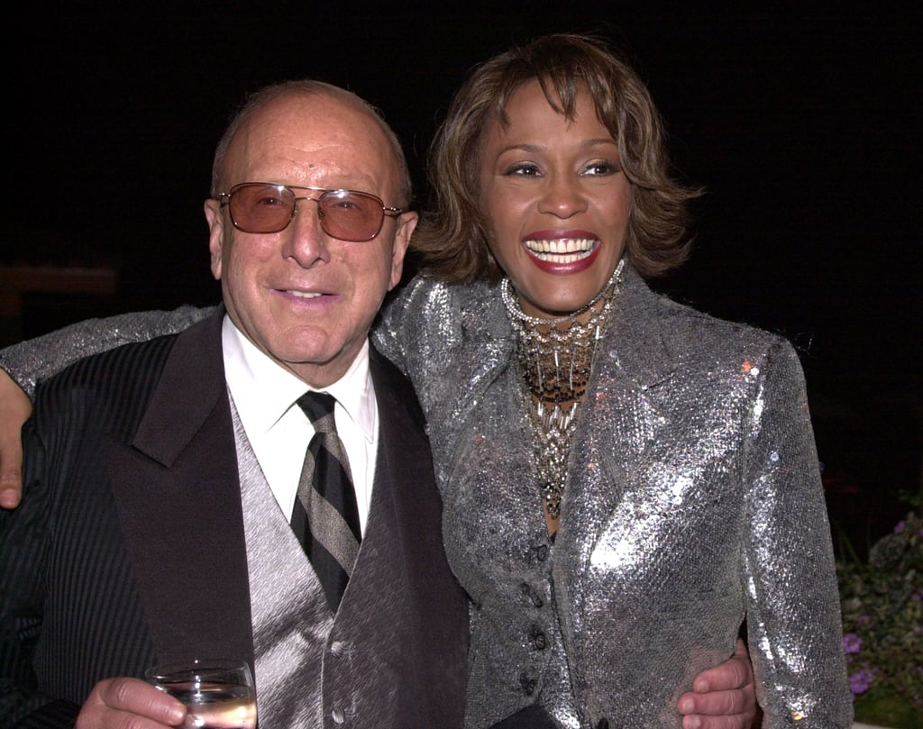 Clive and Whitney got together at Arista 25th Anniversary Celebration afterparty in 2000.