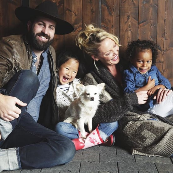 Katherine Heigl Cute Family Pictures