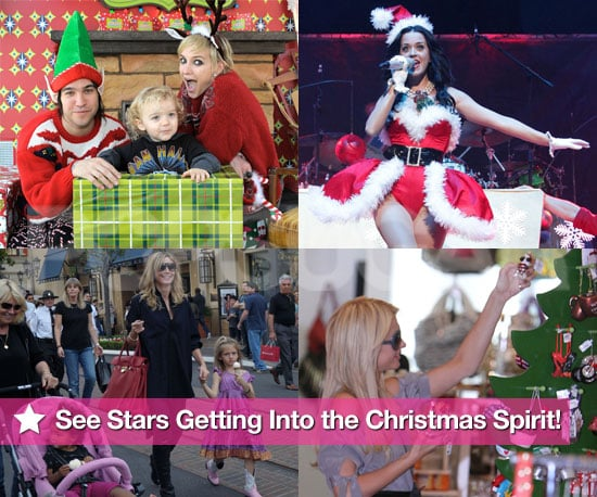 Pictures of Celebrities Celebrating Christmas