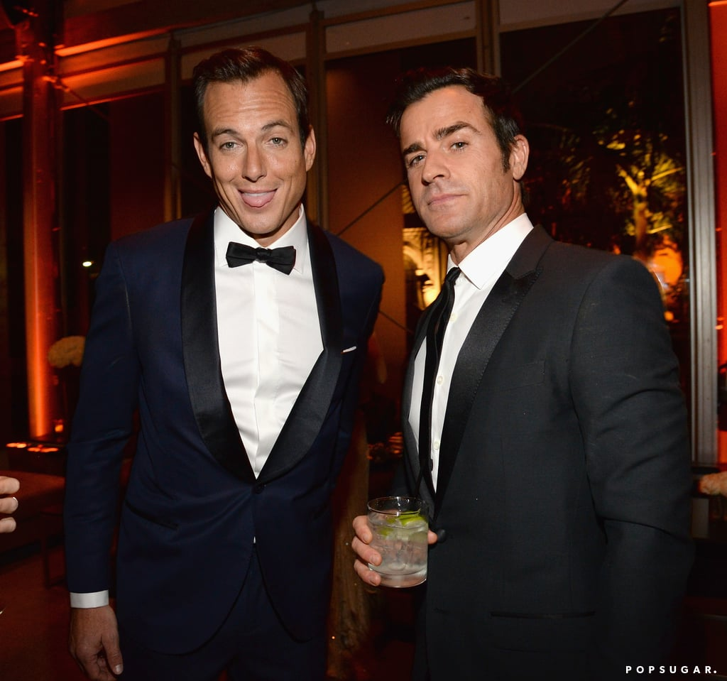 Will Arnett and Justin Theroux