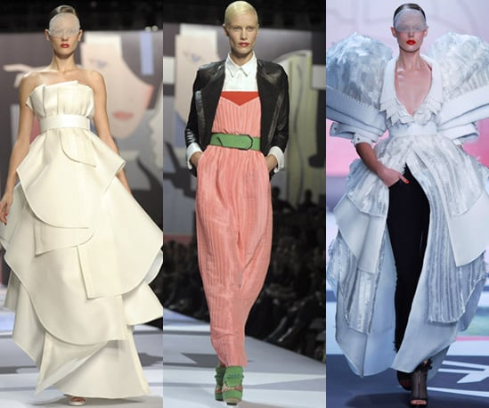 Photos of Viktor and Rolf at Paris Fashion Week for Spring 2011