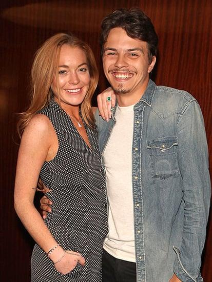 Lindsay Lohan and Boyfriend Egor Tarabasov Take Date Night to the Alice Through the Looking Glass Screening in London
