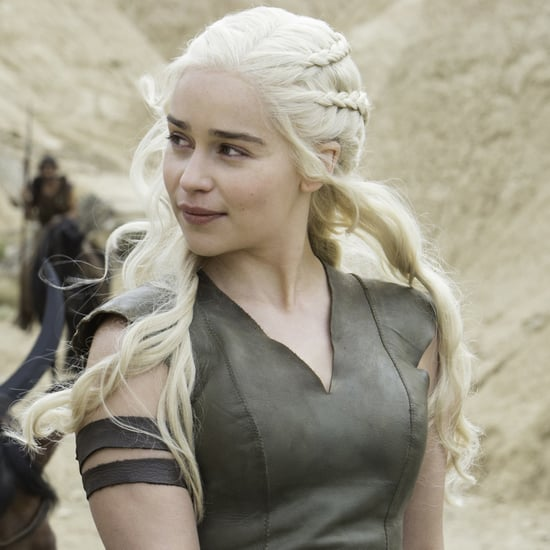 Emilia Clarke's Game of Thrones Blooper on Instagram