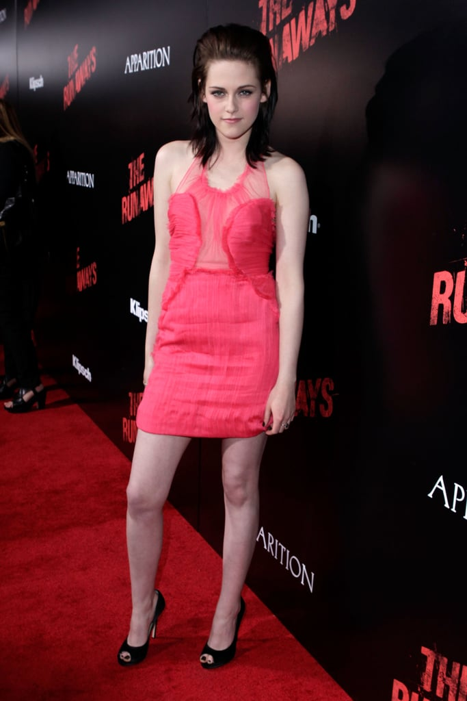 Always one to keep us on our toes, Stewart went bold in 2010 working a sheer-inset Doo.Ri selection for the LA premiere of The Runaways.