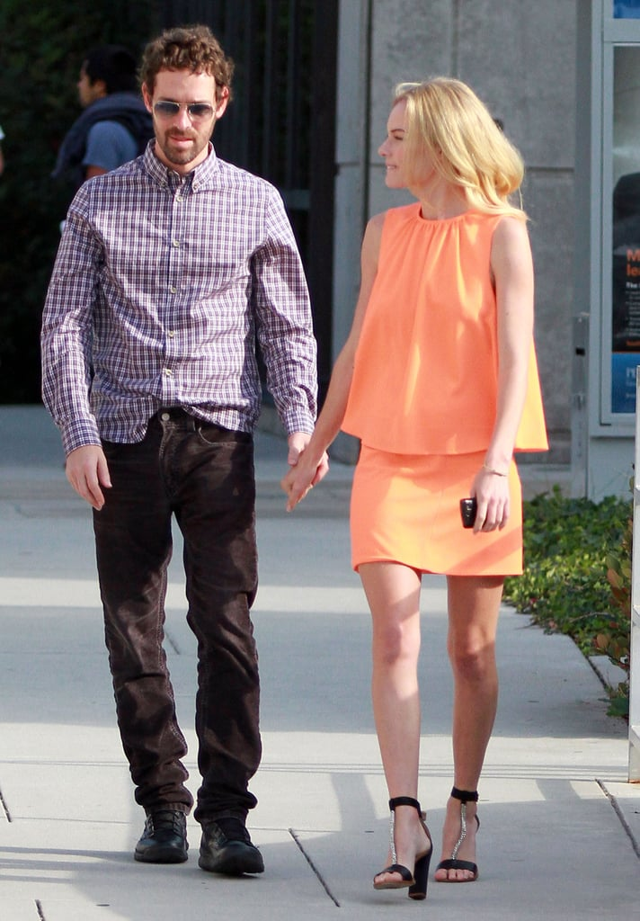 Kate Bosworth and boyfriend Michael Polish.