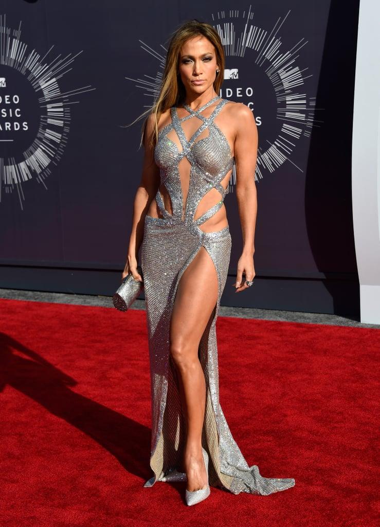 Jennifer Lopez at the 2014 MTV VMAs